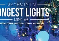 Skypoints Longest Lights Family Dinner 2014