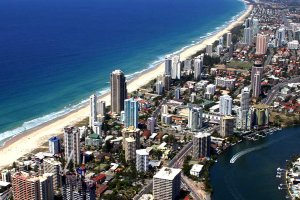 Surfers Paradise Gold Coast Queensland Australia